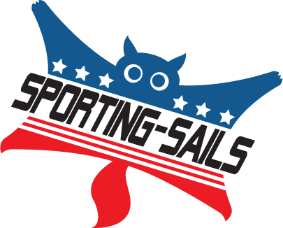 SPORTING-SAILS - Sport the Flying Squirrel Stickers Designed by Connor Bondlow