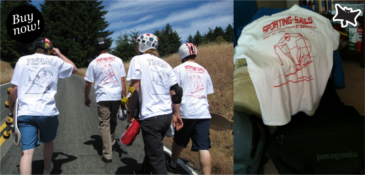SPORTING-SAILS - Team Deploy Skateboard Shirts
